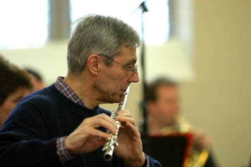 David Sumbler, principal flute player