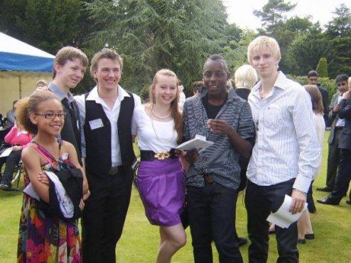 (L to R) Nicole Matthews (10), Connor Taylor (12), Matthew Topliss (16), Amy Fleming (14), Joseph Poulton (17) & Dale Rhodes (17)
