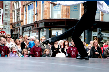 Ballet on Briggate (Photo: Ryan Hopkinson)