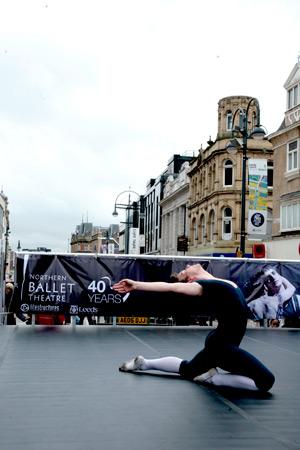 Ballet on Briggate (Photo: Ryan Hopkinson)