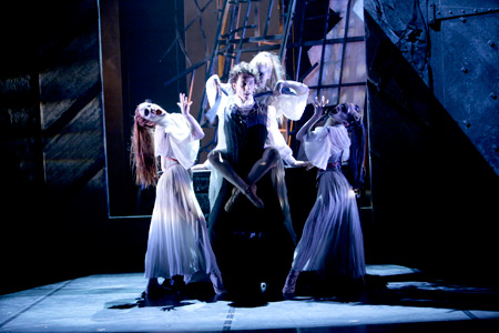 Jonathan & the Brides (Photo: Merlin Hendy)