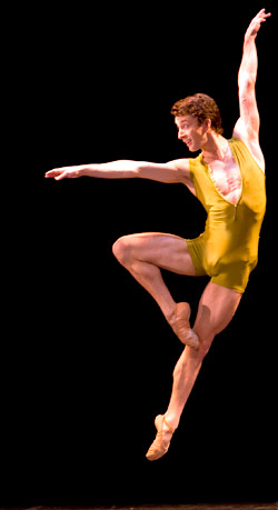 Tobias Batley nominated for top dance accolade. Photo: Bill Cooper