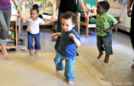 Developing your co-ordination skills can be fun and achieved through play - running and jumping for starters.