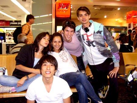 Julie, Michela, Jeremy, Sebastian and Yoshihisa