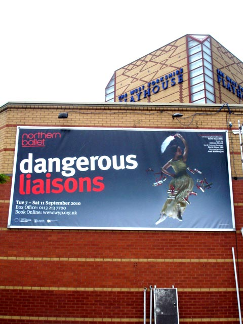 Dangerous Liaisons at the West Yorkshire Playhouse this September