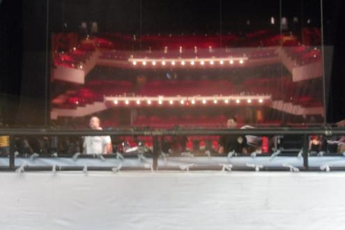 View from the Hong Kong Grand Theatre stage