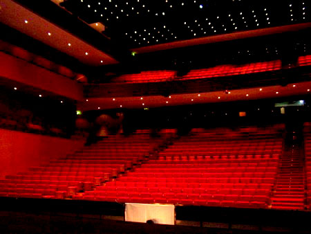 The auditorium at Macau Cultural Centre