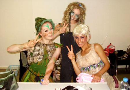 Good bye from all of us and see you in September! (Vicky, Christie and Micky)